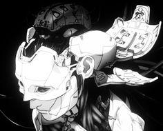 Replicants, Cyborgs and digital spirits Motion Design, Cyberpunk Kunst, Grunge Art, Robot Concept Art, Futuristic Art, Ghost In The Shell, Sci Fi Art, Manga Art, Illustration