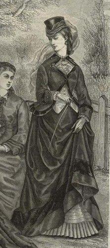 MODE ILLUSTREE PATTERN June 23,1872-SIDE SADDLE-AMAZONE