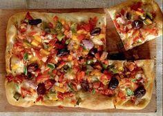 Συνταγή για νηστίσιμη πίτσα!   ediva.gr Pizza Recipes, Vegetable Pizza, Tacos, Vegetables, Ethnic Recipes, Food, Essen, Vegetable Recipes, Meals