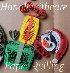 quilling christmas penguin