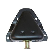 Door Latch Pin/Bracket, Left Side; 81-95 Jeep CJ7/CJ8/Wrangler YJ