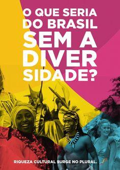 Riqueza cultural surge no plural. #pluralidade #agencia #publicidade #marketing #diversidade #miscigenacao #digital #inspiracao #cultura