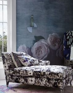 After bedroom ideas? Create a romantic scheme with plenty of large blooms.