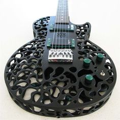Z02K.info | internet is our sea - gabemax: 3D-Printed Guitar by ODD Guitars The...