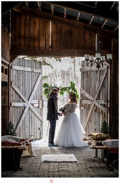 Créatif Mariage hivernal rustique / Canadian Rustic Winter Wedding styled shoot