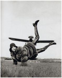 Helmut Newton pour Vogue, Londres, 1967.