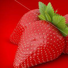 Strawberry #c4d #cinema4d #inspiration #motivation #vray #design #graphic #graphicdesign #typography #3d #webstagram #design #creative #idea #photoshop #fruit #art #strawberry #fresh #red #green #cgi #creation #renders #rendering #render  #color  #colour  #colours #inspire #fruits by heerataak