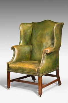 Chippendale Period Wing Chair (Ref No. 4271) - Windsor House Antiques