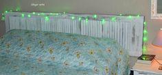 Cabeceira de cama de casal, madeira, restauração, reciclagem,