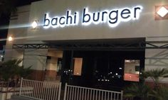Bachi Burger, Las Vegas.  Diners, Drive-ins, and Dives