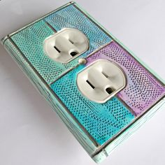 mosaic outlet cover,  switchplate home decorCP-012-S3