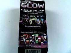 Splat Glow In The Dark Temporary Hair Color Dye cosmic pink USA ONLY.