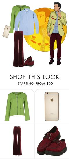 """""""Disney University- Prince Charming"""" by misssally ❤ liked on Polyvore featuring Marella, Carhartt, Emilio Pucci and T.U.K."""