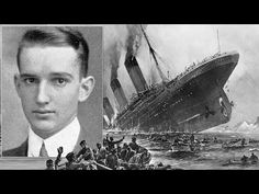 Supravietuitorii Titanicului   Barbatul salvat de o sticla de Whisky - YouTube Titanic Ship, Rms Titanic, Titanic Survivors, Whisky, Night In The Wood, Farm Hero Saga, Modern History, Haunted Places, Sounds Like