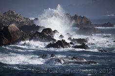 ocean waves crashing on the shore - Google Search