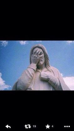 """Fifa World Cup 2014 Brazil: Cristo Redentor shame: 2014 July 8: Semi-Final De-Bra score: 7-1. Sorry Brazil! Worst nightmare in own backyard for 5x world champion since 1920! German team coach humbled own players as last match is not won yet. So """"Latin cup"""" as hispanic media claimed turned euro ; ) Lesson: Individualism/Passion is not ample in team sports, esp. vs emotionally/psychologically mature/consistent/pro/fit germans. It's not @ praying but playing. depicted: media reaction-statue 1"""