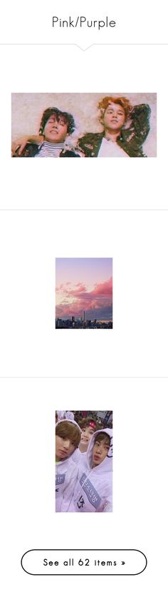 """""""Pink/Purple"""" by agvust ❤ liked on Polyvore featuring bts, kpop, jimin, people, fillers, aesthetic, pictures, backgrounds, filler and photos"""