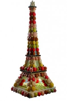 Macaron Eiffel Tower ~=~ Does Not Get Any Sweeter Than This, Magnifique !! <3.