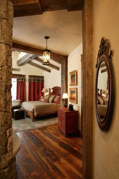 Top 12 Exotic Asian Style Bedroom Designs : Gorgeous Rustic Asian Style Bedroom Decoration with Classic Wooden Bed Frame and Patterned Sofa ...