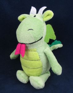 Happy Nappers Home Sweet Home Collection Plush Green Dragon Sings Song | eBay