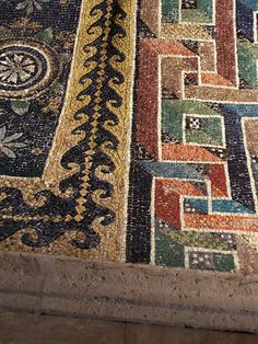 Floor at Mausoleum of Galla Placidia – Ravenna, Italy