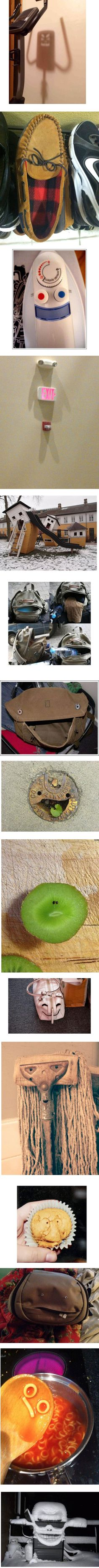 15 Faces Found in Inanimate Objects