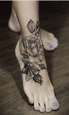 Beautiful Floral Tattoos
