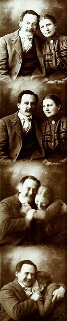 Einstein and his wife photo-boothed before you did.