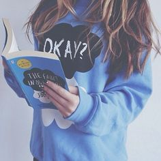 The Fault In Our Stars Okay Okay Blue by PerksOfBeingAWeasley