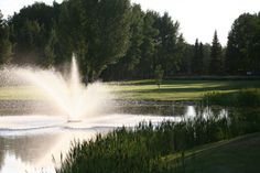 The Grande Prairie Golf & Country Club What A Beautiful World, Grand Prairie, Lakes, Golf Courses, Waterfall, This Is Us, Journey, Club, Country