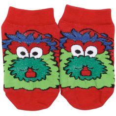 Philadelphia Phillies Toddler Realistic Mascot Socks - Red