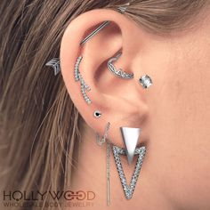 These winter earrings are magical✨ Shop these dreamy items at http://www.hollywoodbodyjewelry.com/ Wholesale Only. USA & Worldwide Shipping Available. - #Body #Jewelry #BodyJewelry #Wholesale #Worldwide #Piercing #Piercings #Piercer #Pierced #Industrial #Rook #Daith #Tragus #Lobe #Snug #Bodypiercing #Stud #Earrings #Ring #Rings Eyebrows #Silver #Gold #Rosegold #ootd #potd #like4like #instagood