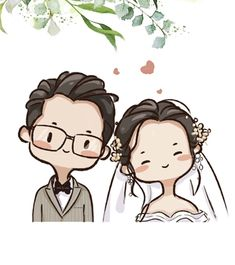 Turn people into cartoon character Cute Couple Drawings, Cute Couple Cartoon, Cute Couple Art, Cute Cartoon Drawings, Cute Love Cartoons, Cartoon Art Styles, Family Picture Cartoon, Simple Cartoon Characters, Cute Chibi Couple