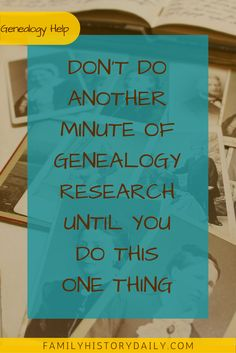 Don't forget to back up your genealogy research!!!