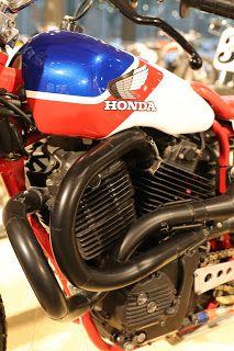 OldMotoDude: 1984 Honfa RS750D on display at the Barber Vintage Motorsports Museum -- Birmingham, Al.