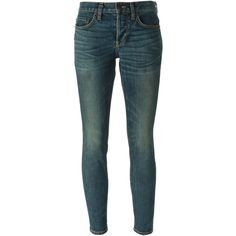 6397 'Baggy' jeans ($315) ❤ liked on Polyvore featuring jeans, bottoms, blue, blue jeans and baggy jeans