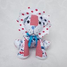 memory bear lion made from baby grows Lily Grace, Memory Bears, Personalized Baby Gifts, One Clothing, Baby Grows, Smurfs, First Love, Lion, Cushions