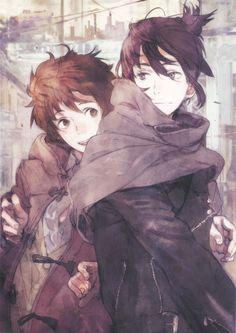 No.6 | anime | manga | Nezumi & Shion