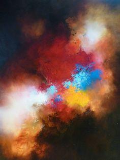 Grande toile peinture abstraite par Simon par SimonkennysPaintings