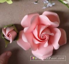 All of my SVG templates, include freebies, to make paper flowers, paper crafts are here. Paper Flowers Craft, Crepe Paper Flowers, Flower Crafts, Diy Flowers, Paper Crafts, Paper Lace, Tissue Flowers, Rose Flowers, Flower Paper