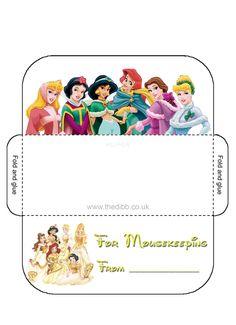 Mousekeeping Envelopes- multiple designs