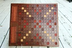 Scrabble Board Game Art Scrabble Board Game, Game Art, Board Games, Diy Ideas, Projects To Try, Awesome, Crafts, Role Playing Board Games, Tabletop Games