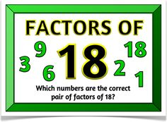 Pairs of Factors - Treetop Displays - A set of 21 A4 posters that will prompt children to understand and find the correct pairs of factors of a given number. With a title poster and explanatory poster, there are 19 posters of various numbers. Visit our website for more information and for other printable resources by clicking on the provided links. Designed by teachers for Early Years (EYFS), Key Stage 1 (KS1) and Key Stage 2 (KS2).