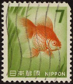 Sello de correos japonés