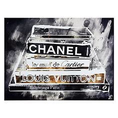 Z Gallerie has a wide selection of contemporary & funky pop art for sale. Shop Z Gallerie to view the entire pop art collection & purchase a print today. Cartier, Balenciaga, Stylish Home Decor, Affordable Home Decor, Decoration, Art Decor, Paris, Black White Art, White Gold