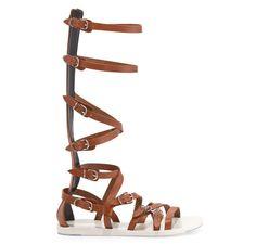Bohemian Gladiator - Balenciaga gladiator sandals