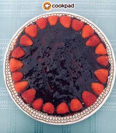#Cheesecake #light με #φράουλες! #συνταγές #γλυκό #τσιζκέικ #δροσερό #ελαφρύ #recipes #strawberry Cheesecake, Acai Bowl, Breakfast, Desserts, Food, Acai Berry Bowl, Morning Coffee, Tailgate Desserts, Deserts