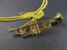 trumpet necklace silver by harmony jewelry. Black Bedroom Furniture Sets. Home Design Ideas