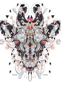 Electro Animals 2 by Yo Az http://www.inspirefirst.com/2013/08/21/electro-animals-2-yo-az/