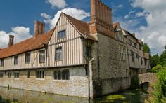 Ightham Mote,14th century moated manor house in north western Kent, near Sevenoaks